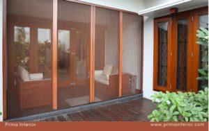 Harga Pintu Lipat Kasa Nyamuk Onna Termurah di Yogyakarta