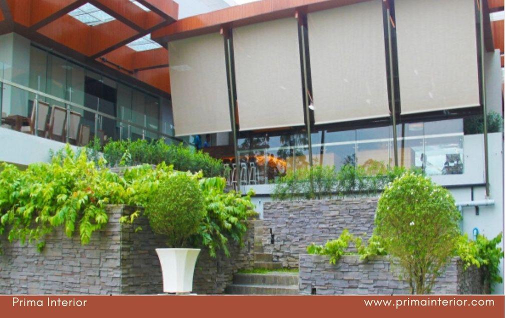 Harga Tirai Outdoor Anti Air Paling Murah di Jogja