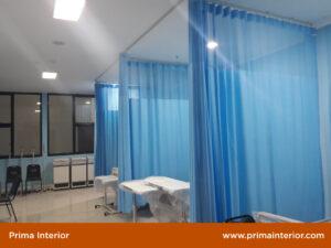 Gorden PVC Anti Darah untuk Rumah Sakit
