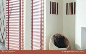 Rumah Tampil Lebih Berwarna dengan Wooden Blind ONNA